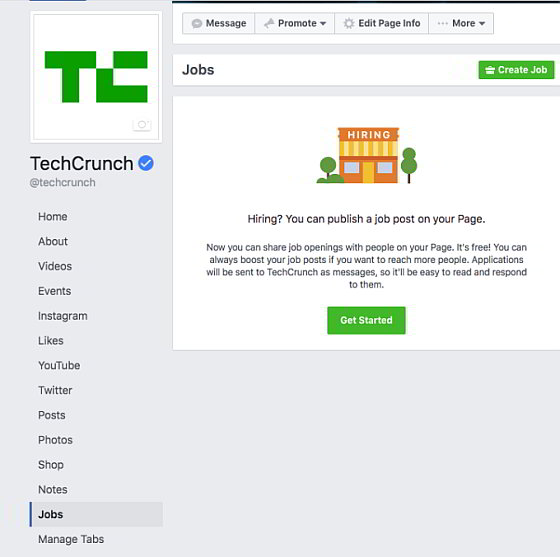Facebook Jobs - TechCrunch